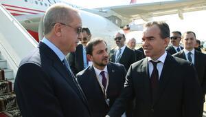 Son dakika... Cumhurbaşkanı Erdoğan Rusyaya geldi