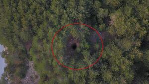 Spil Dağı zirvesinde obruk oluştu 100 metre derinliğinde...