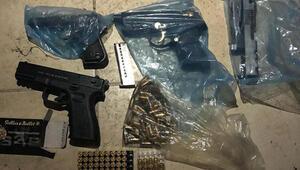10 ilde hayalet silah şebekesine operasyon: 4ü polis 75 gözaltı