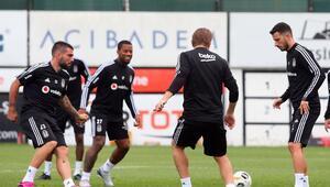 Beşiktaşta Braga maçı hazırlıkları sürüyor