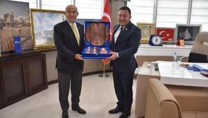 TFF Başkanı Özdemirden, Beyoğluna ziyaret