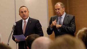 Dışişleri Bakanı Mevlüt Çavuşoğlu mutabakat muhtırasını okudu
