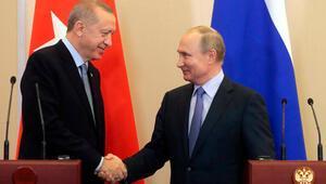 Son dakika... Tarihi zirve sonrası Cumhurbaşkanı Erdoğan ve Putinden ortak açıklama