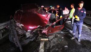 Boluda zincirleme kaza: 3 ölü, 2 yaralı