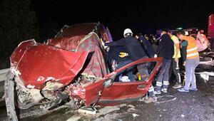 Boluda zincirleme kaza: Ölü ve yaralılar var