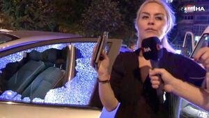 Dehşeti yaşadılar 'Kadın sürücü levyeyle saldırdı' iddiası