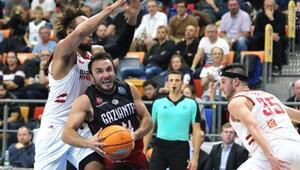 ERA Nymburk: 74 - Gaziantep Basketbol: 72
