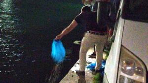 Tekirdağda kaçak avlanan 2 ton midye ele geçirildi