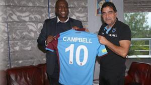 Kevin Campbellden Trabzonspora ziyaret