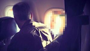 Uçakta 'mide bulandıran' olay! Sosyal medya yıkıldı