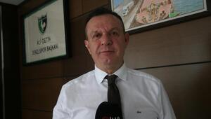 """Denizlispor Başkanı Ali Çetin: """"Herkes kendisine yakışanı yapıyor, bizim sorunumuz değil"""""""