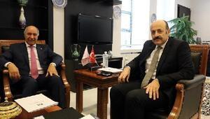 YÖK Başkanı Saraç, Irakın Ankara Büyükelçisi ile görüştü