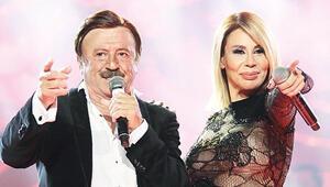 Linet ile Selami Şahin aynı sahnede
