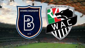 Medipol Başakşehir- Wolfsberger maçı saat kaçta hani kanalda yayınlanacak Muhtemel 11ler