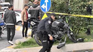 Motosikletli kapkaççılar kaza yaptı; 1 ölü 1 yaralı