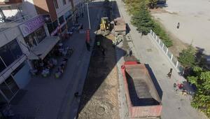 Kahramankazan'da asfalt çalışması