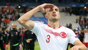 Merih Demiral için Juventustan asker selamı cevabı