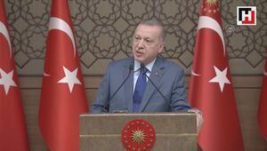 Cumhurbaşkanı Erdoğan: Kapıları açarız dediğim zaman tutuşuyorlar