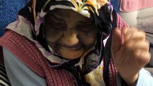 Yaşlı kadın kabusu yaşadı