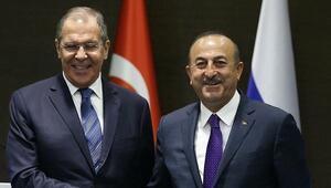 Lavrov ve Çavuşoğlu, Suriyenin kuzeydoğusunu görüştü