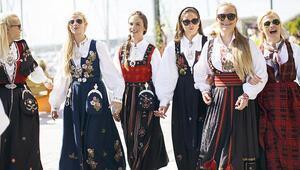 Norveç'te kadınlar çok mutlu