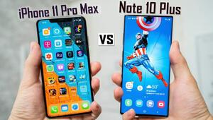Batarya ömrü en iyi hangisi: iPhone 11 Pro Max mi Galaxy Note 10 Plus mı