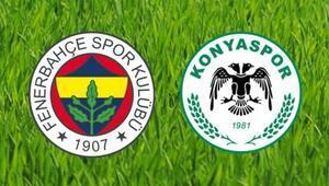 Fenerbahçe Konyaspor maçı ne zaman, saat kaçta, hangi kanalda