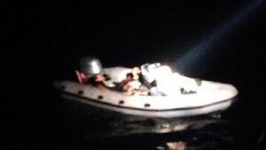 Datça ve Bodrum açıklarında 41 kaçak göçmen yakalandı