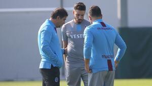 Trabzonspor, Başakşehir hazırlıklarına başladı Karaman ile Sosa...