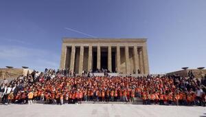 Çankayalı çocuklar Anıtkabiri ziyaret etti