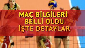 Galatasaray Fenerbahçe voleybol maçı ne zaman, saat kaçta, hangi kanalda