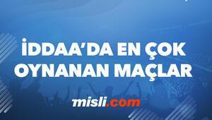 iddaada günün banko, en çok oynanan maçları burada Misli.com yazarları önerdi...