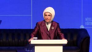 Emine Erdoğan: 2023e kadar geri kazanım oranımızı yüzde 35e çıkaracağız