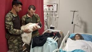 Türk askerine Pınarlı teşekkür