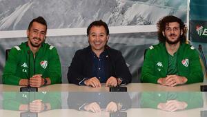 Bursaspor, Emirhan ve Sedatın sözleşmelerini uzattı