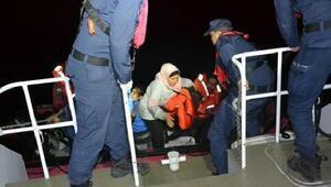Dikilide 12 kaçak göçmen yakalandı