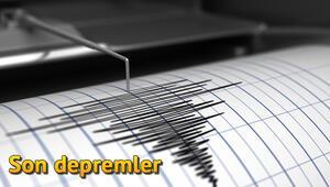 Son depremler.. Kandilli Rasathanesi tarafından tespit edilen son deprem listesi