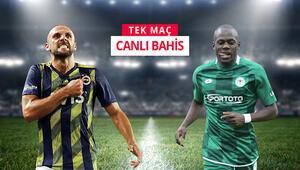 As kalecisinden yoksun Konyaspor, Fenerbahçe deplasmanında iddaada TEK MAÇ...