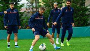Başakşehirde Trabzonspor hazırlıkları devam ediyor