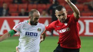 Gaziantep FK - Alanyaspor: 1-1