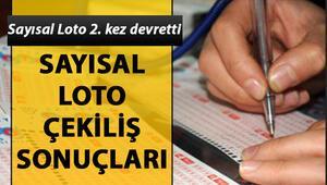 Sayısal Loto 2. kez devretti 26 Ekim MPİ Sayısal Loto çekiliş sonuçları sorgulama sayfası