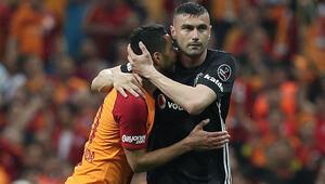 Kaybeden yanar Beşiktaş - Galatasaray derbisinin muhtemel 11i...