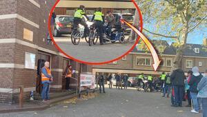 Engelli Hollandalı'dan camiyi protesto edenlere tepki
