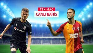 Dev derbide Beşiktaş, G.Sarayı konuk ediyor iddaada TEK MAÇ, CANLI BAHİS...