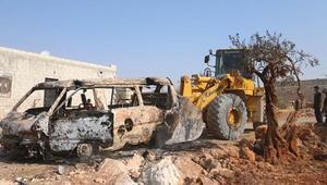AA İdlibde Bağdadinin öldürüldüğü iddia edilen yeri görüntüledi