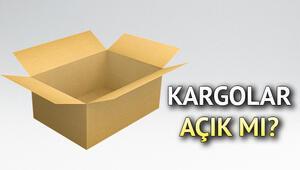 Kargolar pazartesi (yarın) açık mı Kargolar 28 Ekimde çalışıyor mu