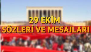 29 Ekim Cumhuriyet Bayramının 96. yıl dönümüne özel mesajlar ve sözler