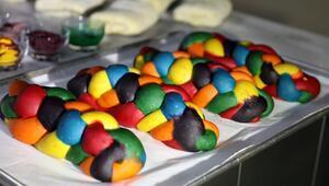 Çocuklu aileler tüketiyor İşte rengarenk ekmekler
