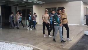 İstanbul'da asker eğlencesinde terör estiren 7 magandaya ceza yağdı