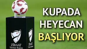 Ziraat Türkiye Kupası 4. tur maçları ne zaman TFF programı açıkladı